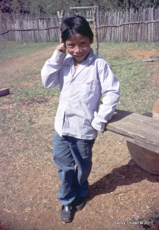 Tzeltal Mayan Boy